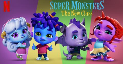 مشاهدة فيلم Super Monsters The New Class (2020) مترجم HD اون لاين