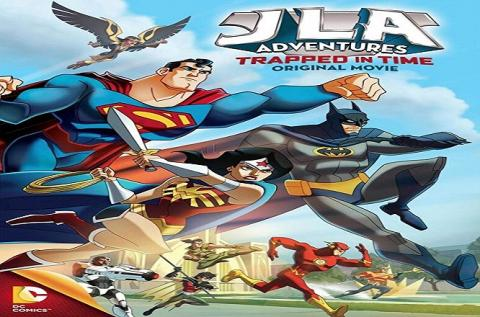 مشاهدة فيلم JLA :Adventures Trapped in Time (2014) مترجم HD اون لاين