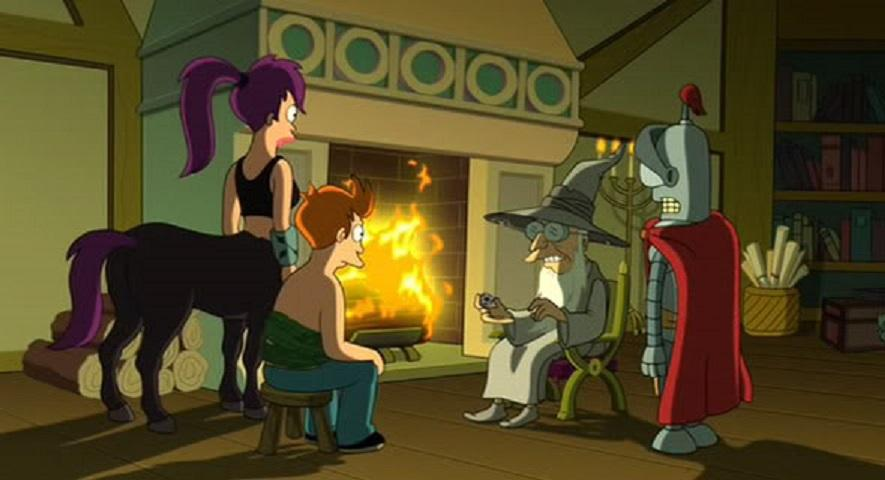 مشاهدة فيلم Futurama Bender's Game (2008) مترجم HD اون لاين