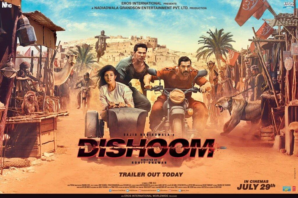 مشاهدة فيلم Dishoom (2016) مترجم HD اون لاين